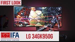 LG 34GK950G Gaming-Monitor - Hands-On #IFA2018 (Deutsch)