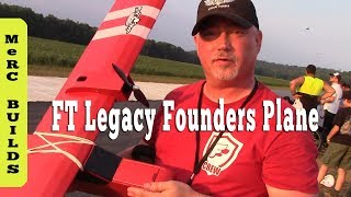 Flite Fest OH 2018 Founders Plane Flights & Build Tips ( FT Legacy RC Airplane )