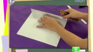 Art Project: Chalkboard & Whiteboard Easel