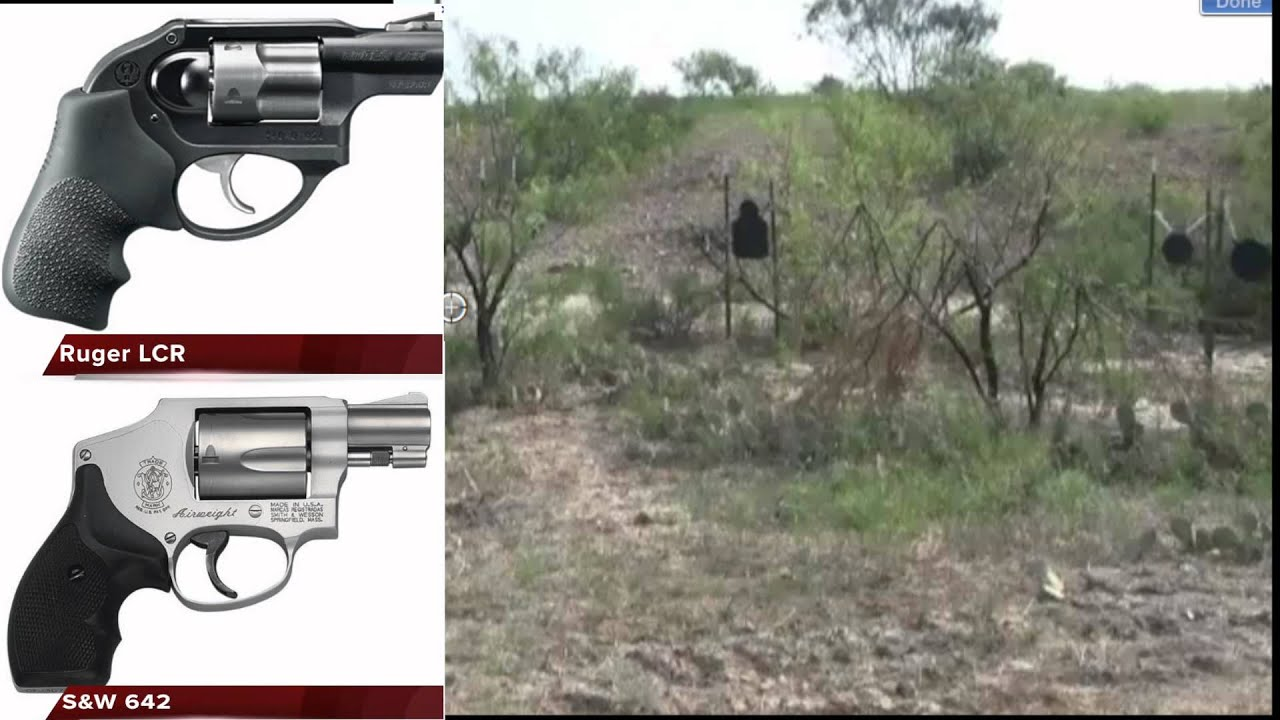 S Amp W 642 Amp Ruger Lcr Comparison Review