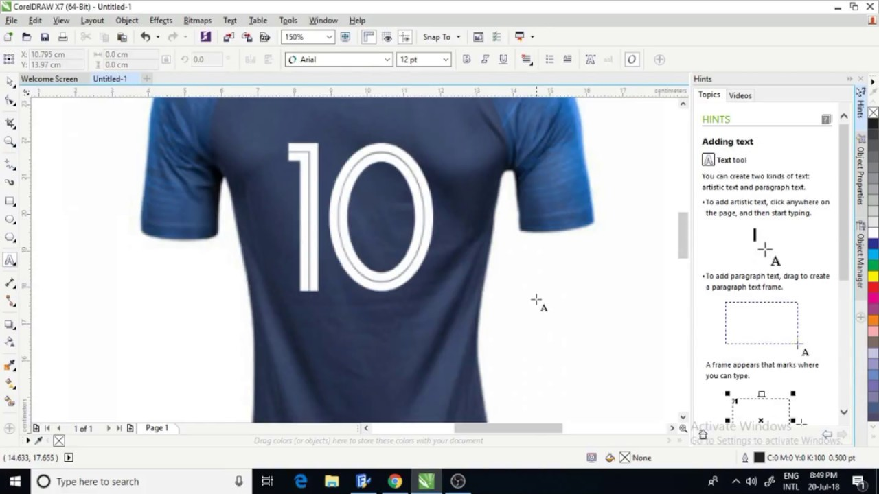 France World Cup 2018 Font TTF Free Download