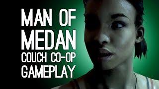 Man of Medan Co-Op Gameplay: Let's Play Man of Medan Couch Co-Op Mode - OOPS, CONRAD