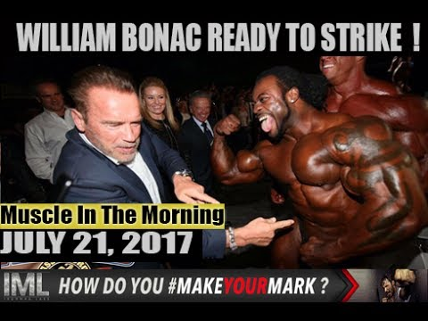 BONAC READY TO STRIKE ! - Muscle In The Morning July 21, 2017