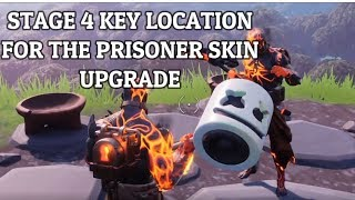 Fortnite - Stage 4 Prisoner Key Location Guide - The Prisoner Skin Upgrade