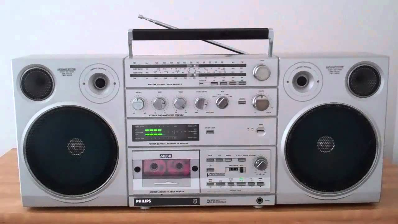 Philips d8623 boombox ghettoblaster collection youtube - Phillips ghetto blaster ...