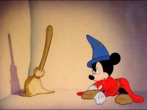 El Aprendiz De Brujo Homenaje A Fantasia Walt Disney