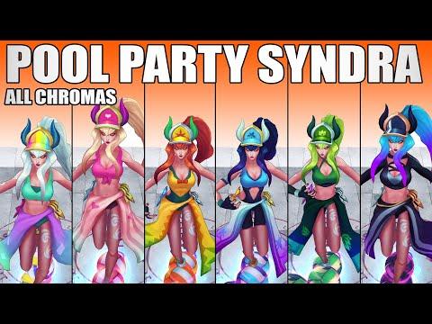 Pool Party Syndra Chroma 2020