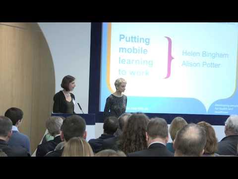 Terence Eden, Helen Bingham. Alison Potter: Mobile learning