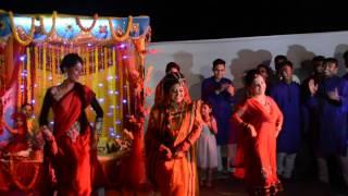 Holud Bridal Dance-Saajan ke ghar janahe