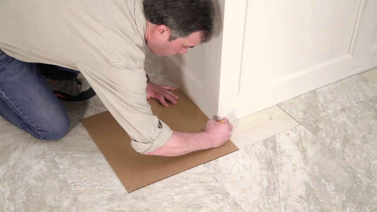 Novalis Self Stick Vinyl Tile Installation Video Youtube