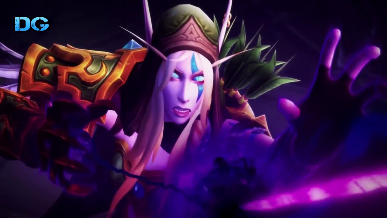Reincarnation of Alleria Windrunner - Cinematic Patch 7.3 Shadows of Argus