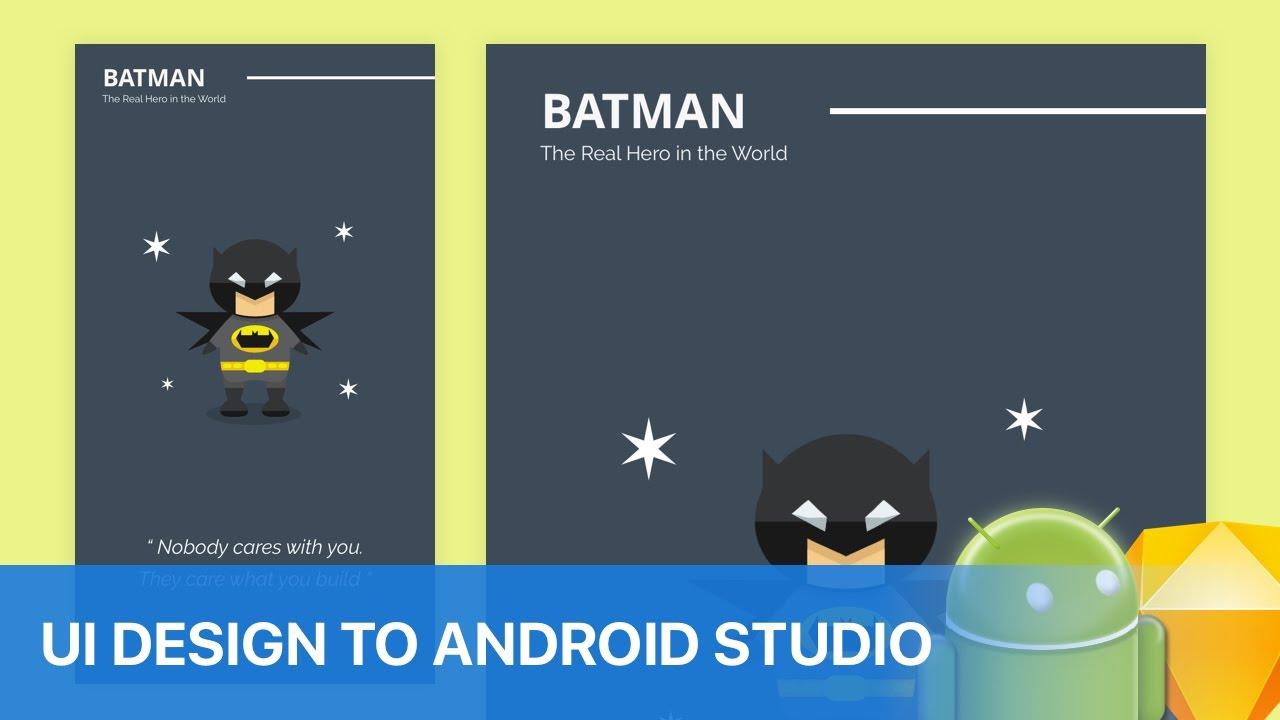 Ui Design: Android Ui Design Tutorial Youtube