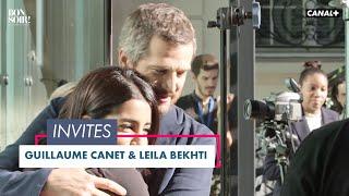 Avec Guillaume Canet et Leila Bekhti  - Bonsoir ! du 20/10 - CANAL+