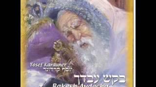 בקש עבדך - יוסף קרדונר