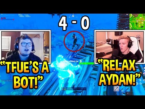 Tfue VS Ghost Aydan 1v1 Playground Build Battle! Best PC Player vs Best Console Player *INTENSE*