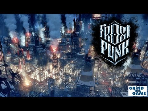 FROSTPUNK Gameplay - Prevent Human Popsicles! - Steampunk Ice Survival