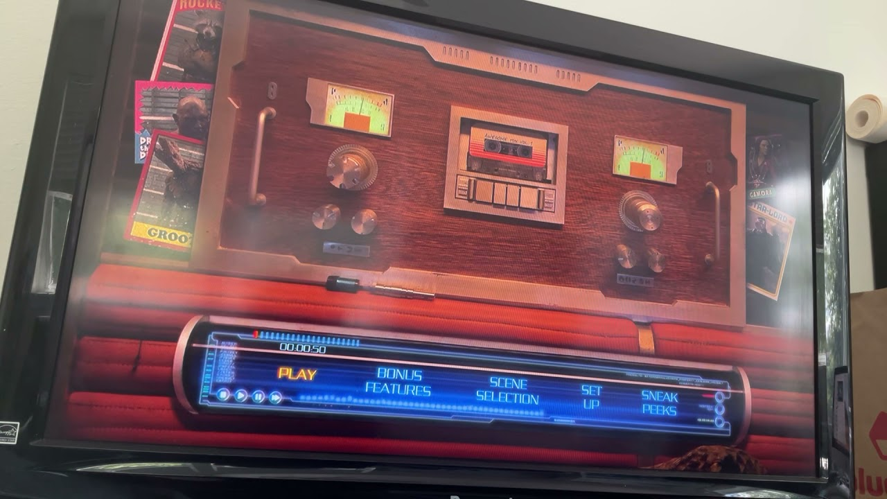 Download Guardians of the Galaxy 2014 Blu-Ray Menu Walkthrough