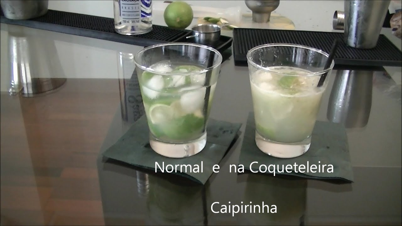 12 Caipirinha - Normal e na Coqueteleira ! - YouTube 7461b9d8f9204