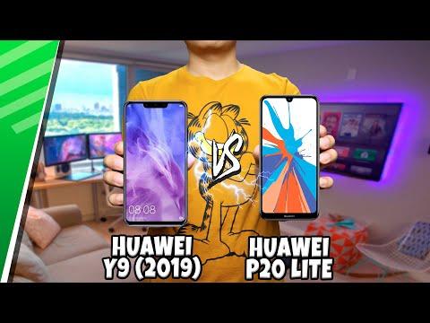 Huawei Y9 (2019) VS Huawei P20 Lite   Enfrentamiento   Top Pulso