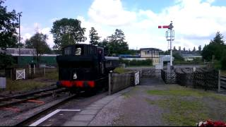 9681 Pannier Coupling Up at Lydney Jn, Dean Forest Railway 8th July 2012