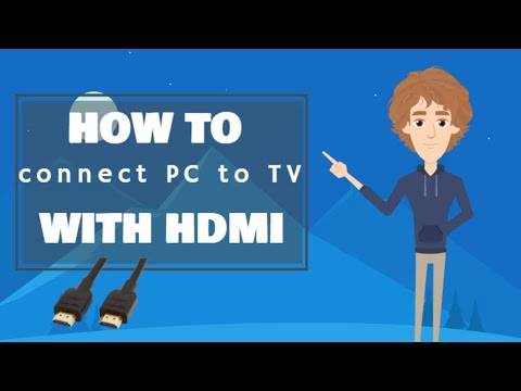 How To Connect PC To TV With HDMI