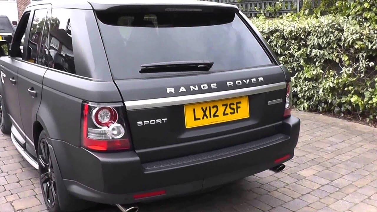 Beadles Matt Black 2012 Land Rover Range Rover Sport HSE 5l