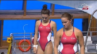 Kazan2013 Women's 3m synchro final