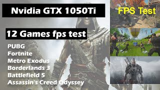Asus ROG GL753VE Core i7-7700HQ Nvidia GTX 1050Ti 12 Most Demanding Modern Games 2019