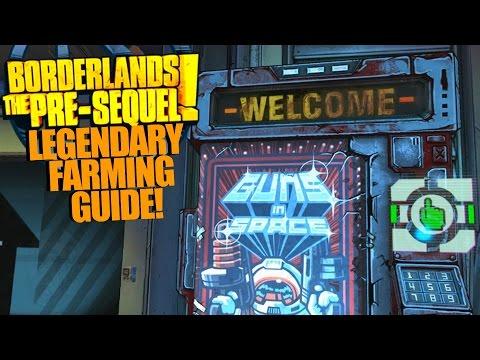 Borderlands: The Pre-Sequel! EASY LEGENDARY FARMING GUIDE!