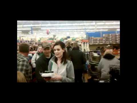 Walmart Black Friday 2011 - Little Falls, MN