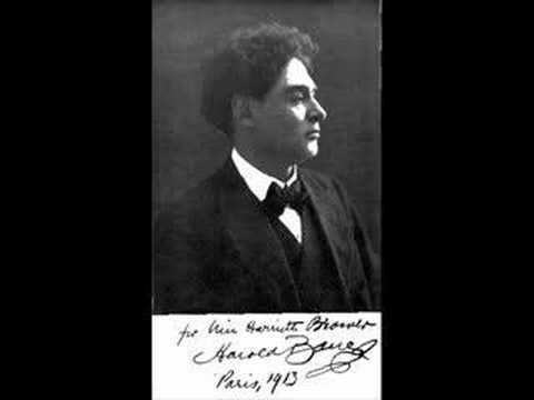 Schumann In der Nacht Harold Bauer Rec. 1928