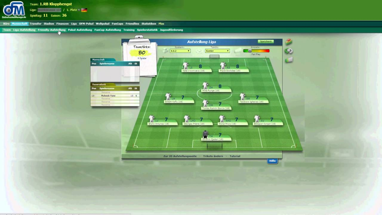 Online FuГџball