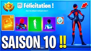 VOICI THE SKINS OF COMBAT SAISON 10 ON FORTNITE!