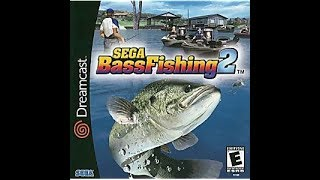 DREAMCAST NTSC GAMES: Sega Bass Fishing 2