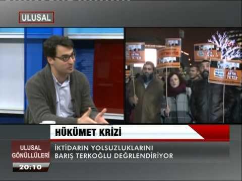 ODATV den Barış Terkoğlu iktidar ve cemaat kavgasını Ulusal Kanala değerlendirdi 1  28 Aralık 2013