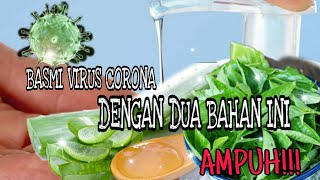 Bahan bahan: - 5 btg daging lidah buaya 1 ikat daun kemangi parfum yg mengandung alcohol sesuai selera 400ml air matang / mineral semoga bermanfaat...