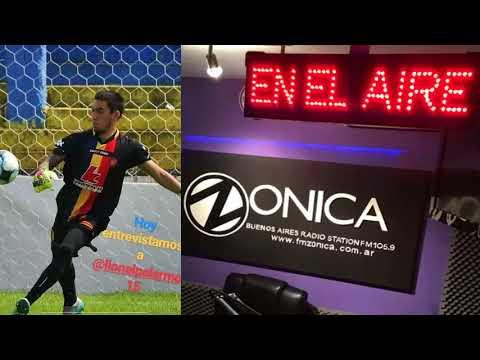 Entrevista radial a Lionel Palermo Radio FM Zonica 105.9FM