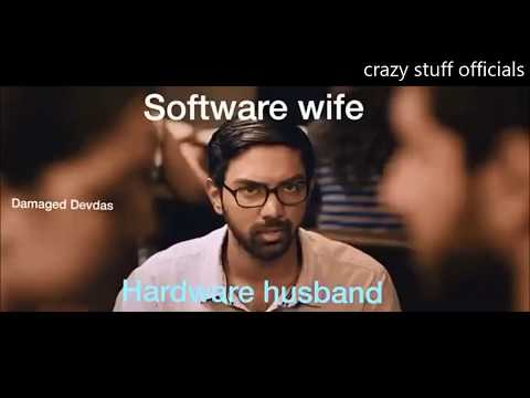 software Wife  V/S hardware Husband 😂