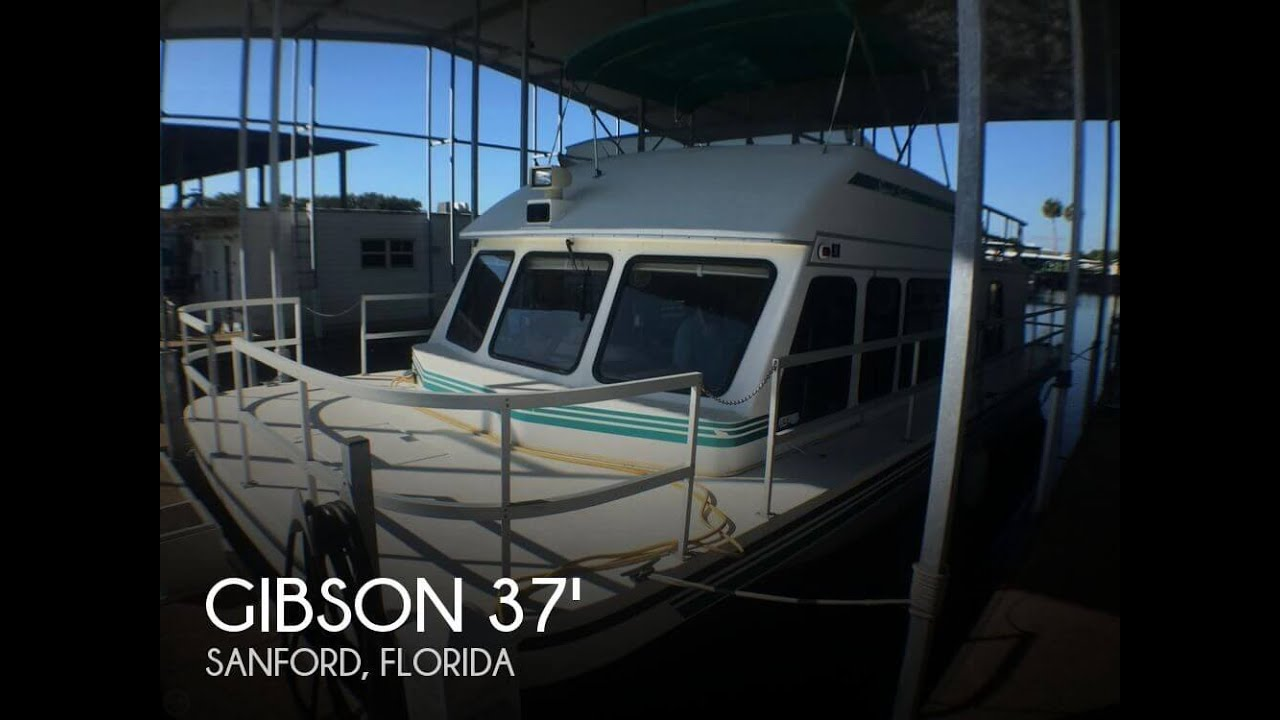[SOLD] Used 1999 Gibson 37 Sport Series in Sanford, Florida