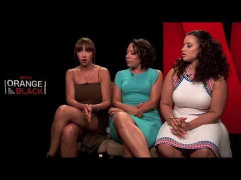 Entrevista de  Orange is the New Black conJackie Cruz, Selenis Leyva y Dascha Polanco