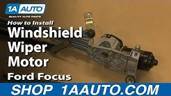 How To Replace Windshield Wiper Motor 02-09 Ford Focus