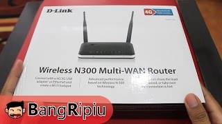 Unboxing D-Link N300 Wireless Router