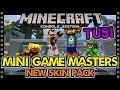 MINECRAFT TU51 | NEW MINI GAME MASTERS SKIN PACK (Minecraft Console)