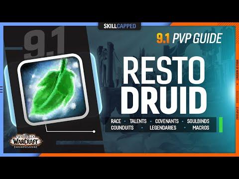 RESTO DRUID 9.1 PvP Guide   Best Race, Talents, Covenants, Soulbinds, Conduits, Gear & Macros