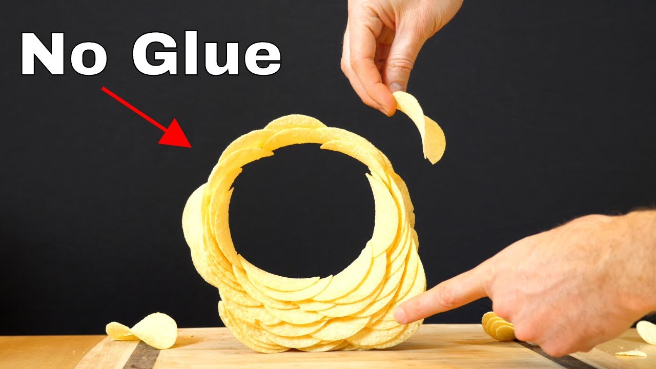 Stacking Pringles in a Complete Circle—The Amazing Physics of Stacking