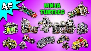 Every Lego Teenage Mutant Ninja Turtles Set - Complete Collection!