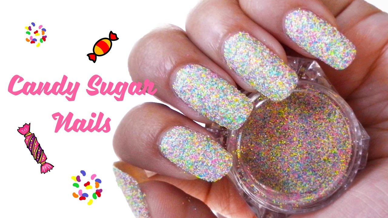 Candy Sugar Nail Art | Born Pretty Store Product Review - YouTube