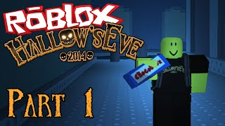 DEFEND YOURSELF WITH CANDY! - ROBLOX Hallow's Eve 2014 - Part 1