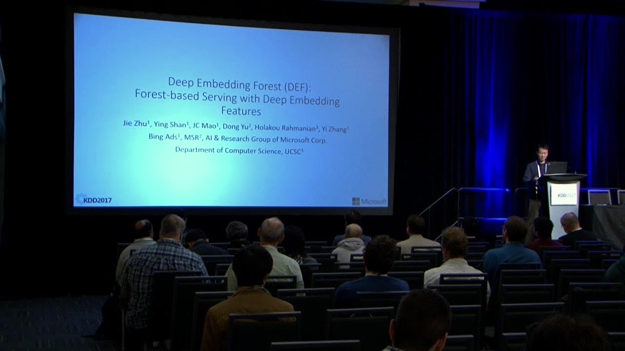 Deep Embedding Forest: Forestbased Serving with Deep Embedding Features