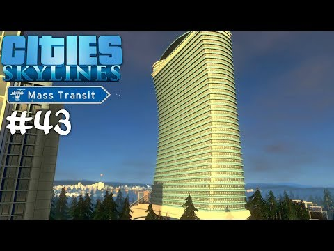 CITIES: Skylines #43 Luxus(-hotel) pur! ☆ Let's Play Cities Skylines Mass Transit